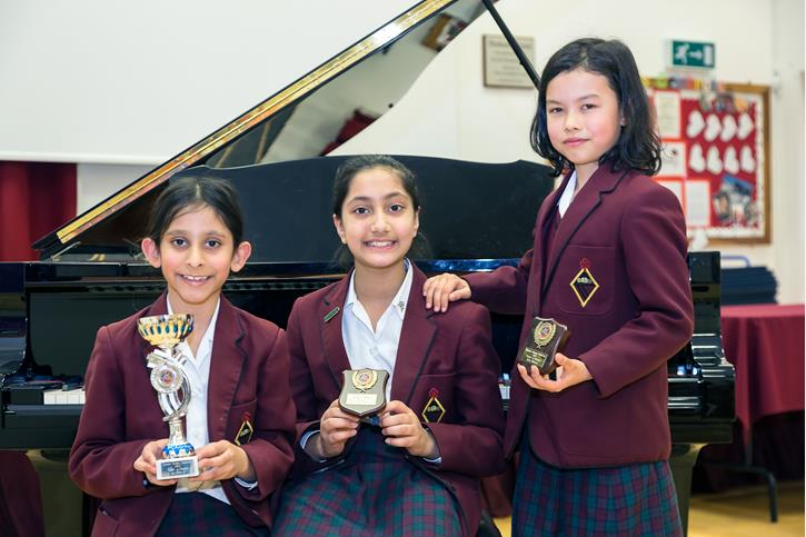 Music Festival Piano Y4 winners