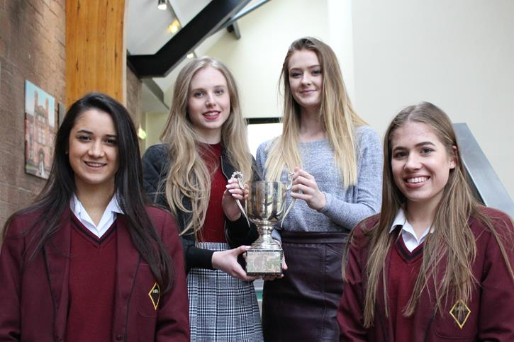 Sr Swimming Team ties in 1st Bolton Schools Championships