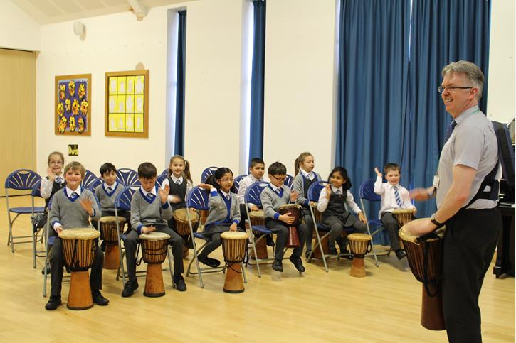 Arts Week African Drumming Workshop