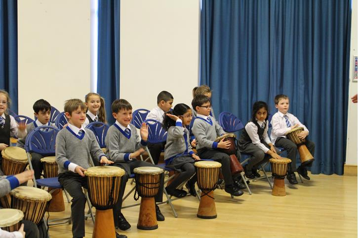 Arts Week African Drumming