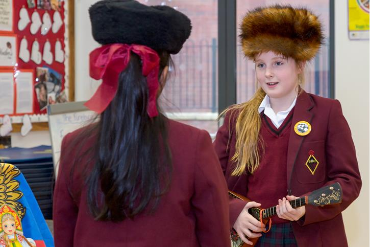 MFL Russian Day hats