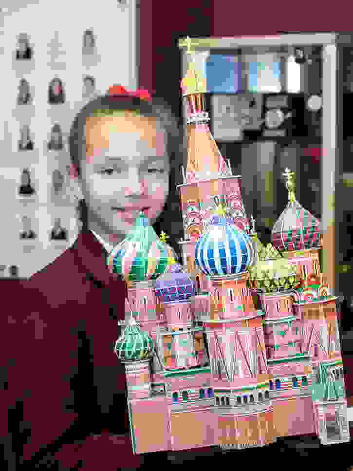 MFL Russian Day church model