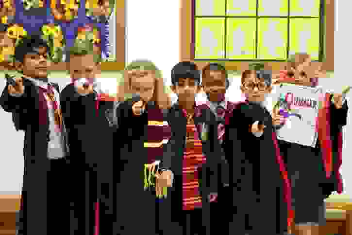 World Book Day - Harry Potter Group