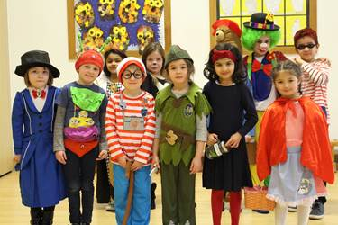 World Book Day - Colourful Group