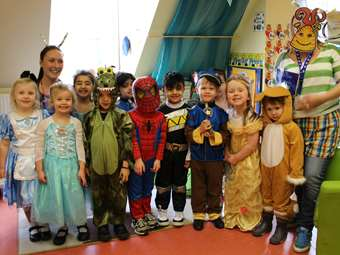 World Book Day - Butterflies in costume