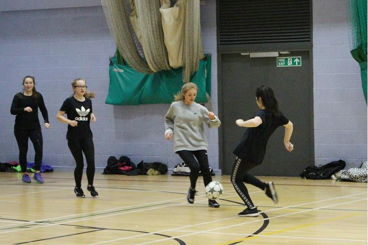 NCS at BLGC - Indoor football