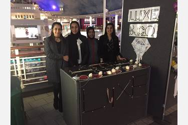 Luxe & Co picked up a highly commended award from the intu Trafford Centre Trade Fair