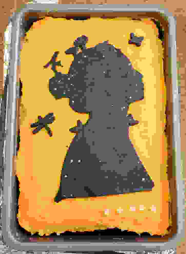 World Book Day - A Girl of Ink and Stars Cake