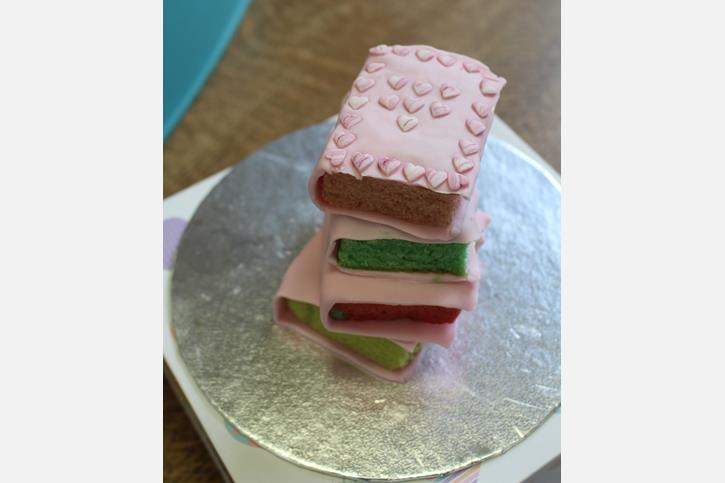 World Book Day - Book Stack Cake