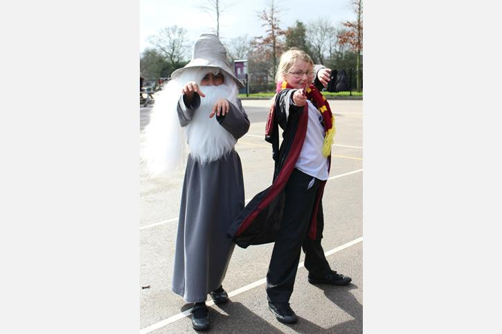 World Book Day - Gandalf and Harry Potter