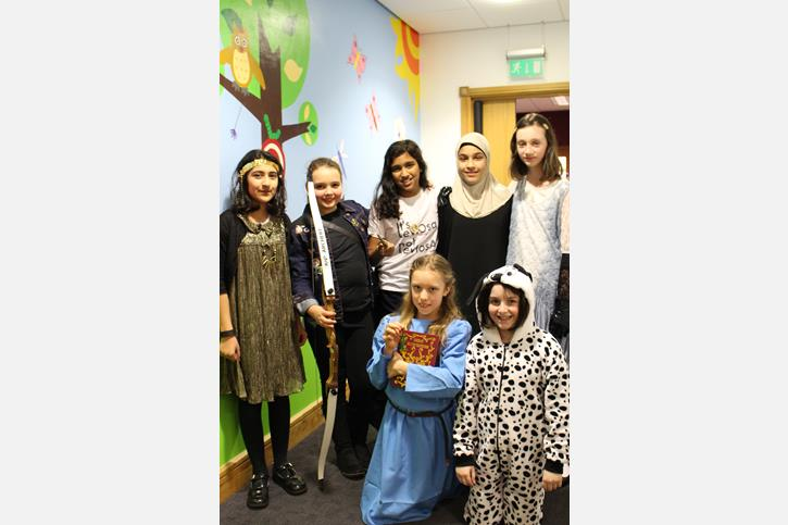 World Book Day - Year 6 Group