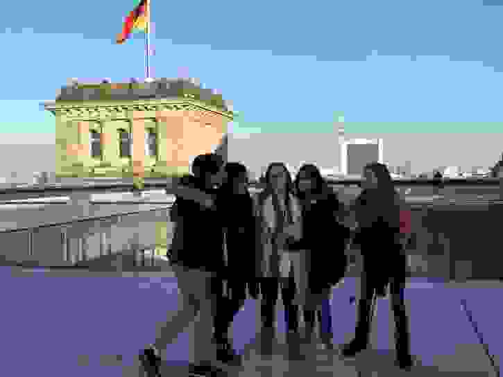 Berlin - Sixth Form girls in Berlin