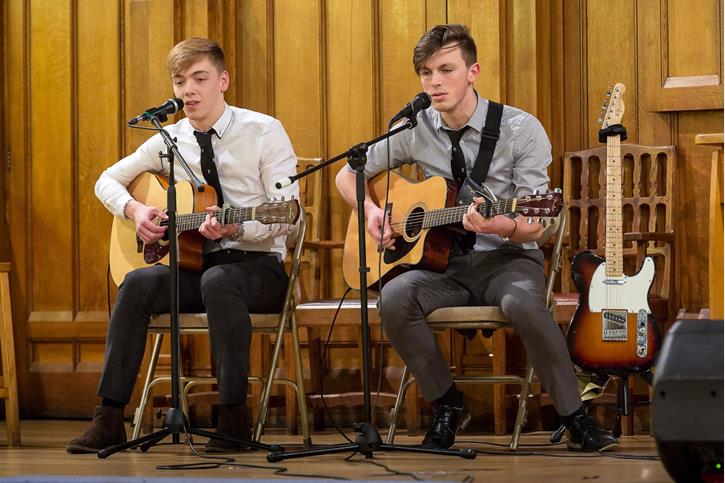 Young Musician of the Year - Matthew Kay (L) and Jay Harland (R)
