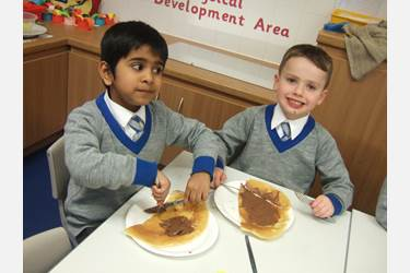 Pancake Day at Beech House