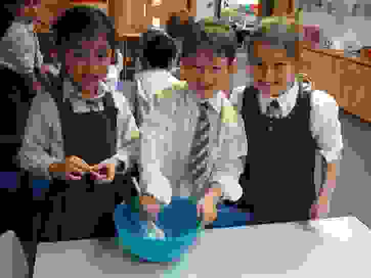 Y2 Baking Club - Big smiles