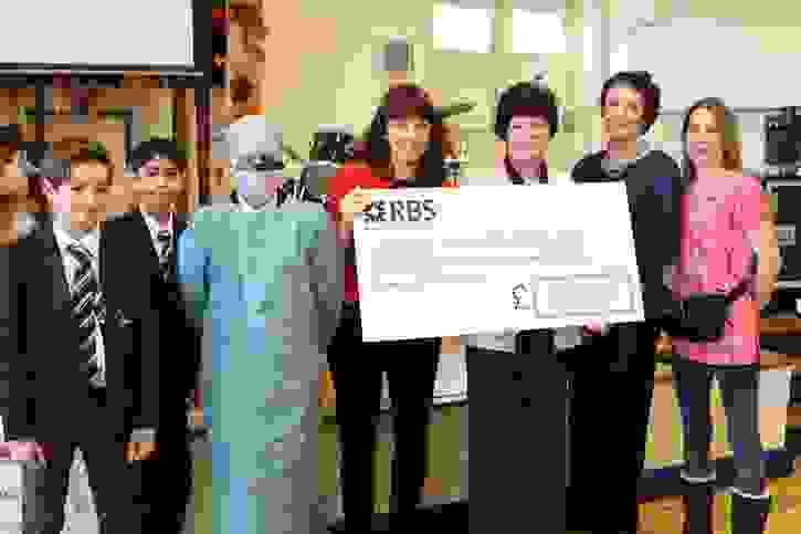 RBH Breast Unit Donation - Cheque Presentation