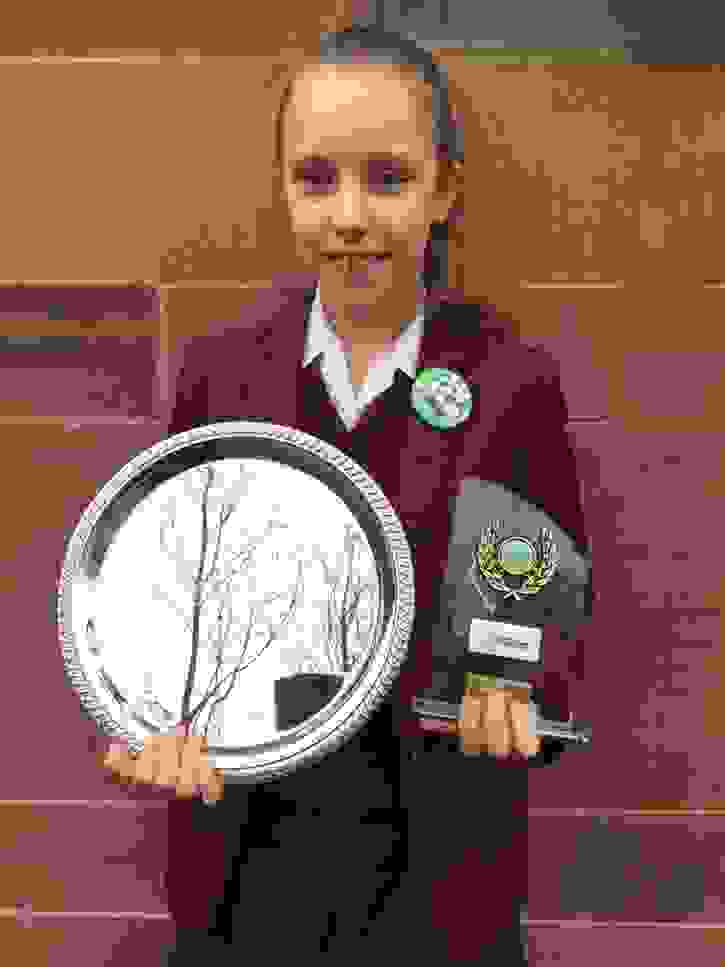 GB Tennis Vlada with Trophies