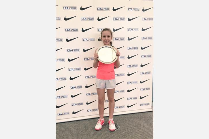 GB Tennis Vlada on competition day