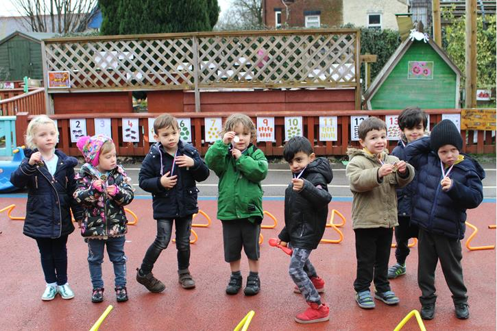 Sport Relief - Butterflies with Medals