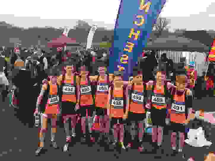 Matthew Y8 Greater Manchester Cross Country