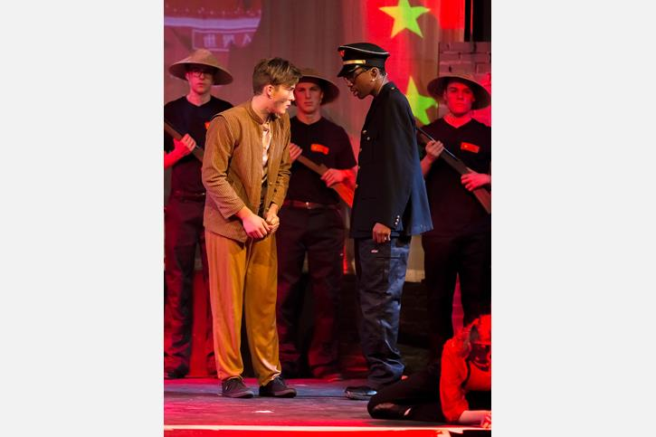 Miss Saigon Arrest