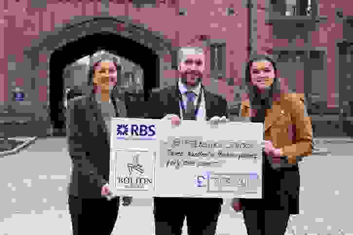 Charity of the Term Cheque for Birtenshaw