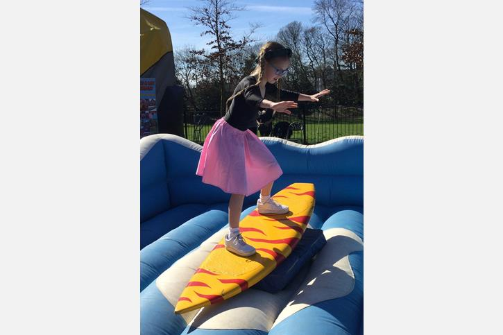 Spring Fair Surfboard Simulator