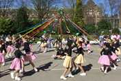 Spring Fair Dancing around the Maypole