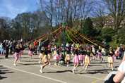 Spring Fair The Maypole Dance