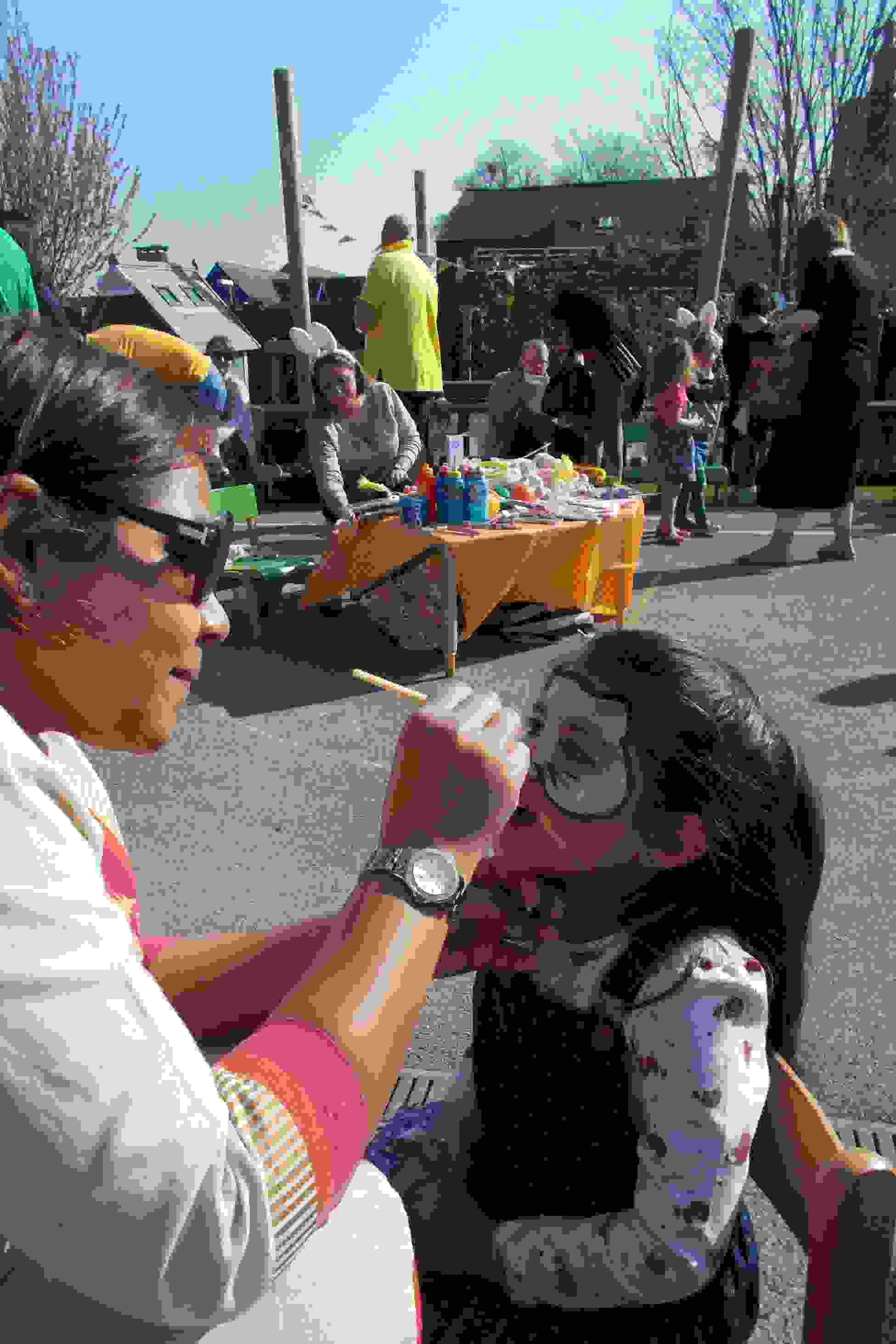 Easter Egg Hunt Face Painting