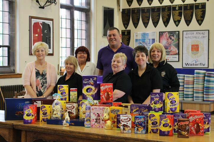 Catering Easter Egg Donation
