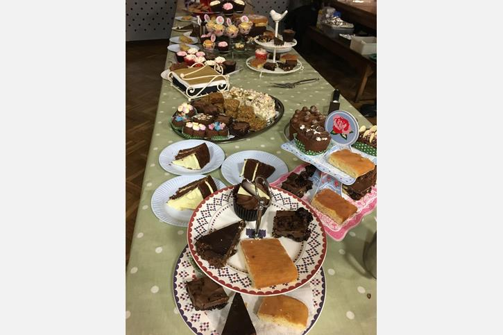 Coffee & Cake Drop-In Cakes