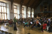 AJIS Proms Orchestra in Great Hall