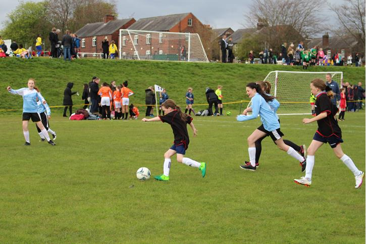 Y5-6 Football Festival girls' competition