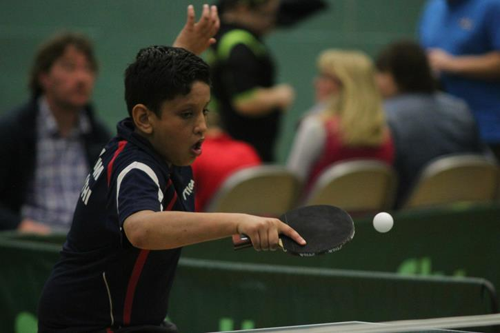 National Table Tennis Player Anupam