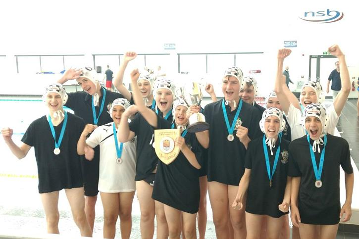 Water Polo Triple Triple - U13 Team Celebrate