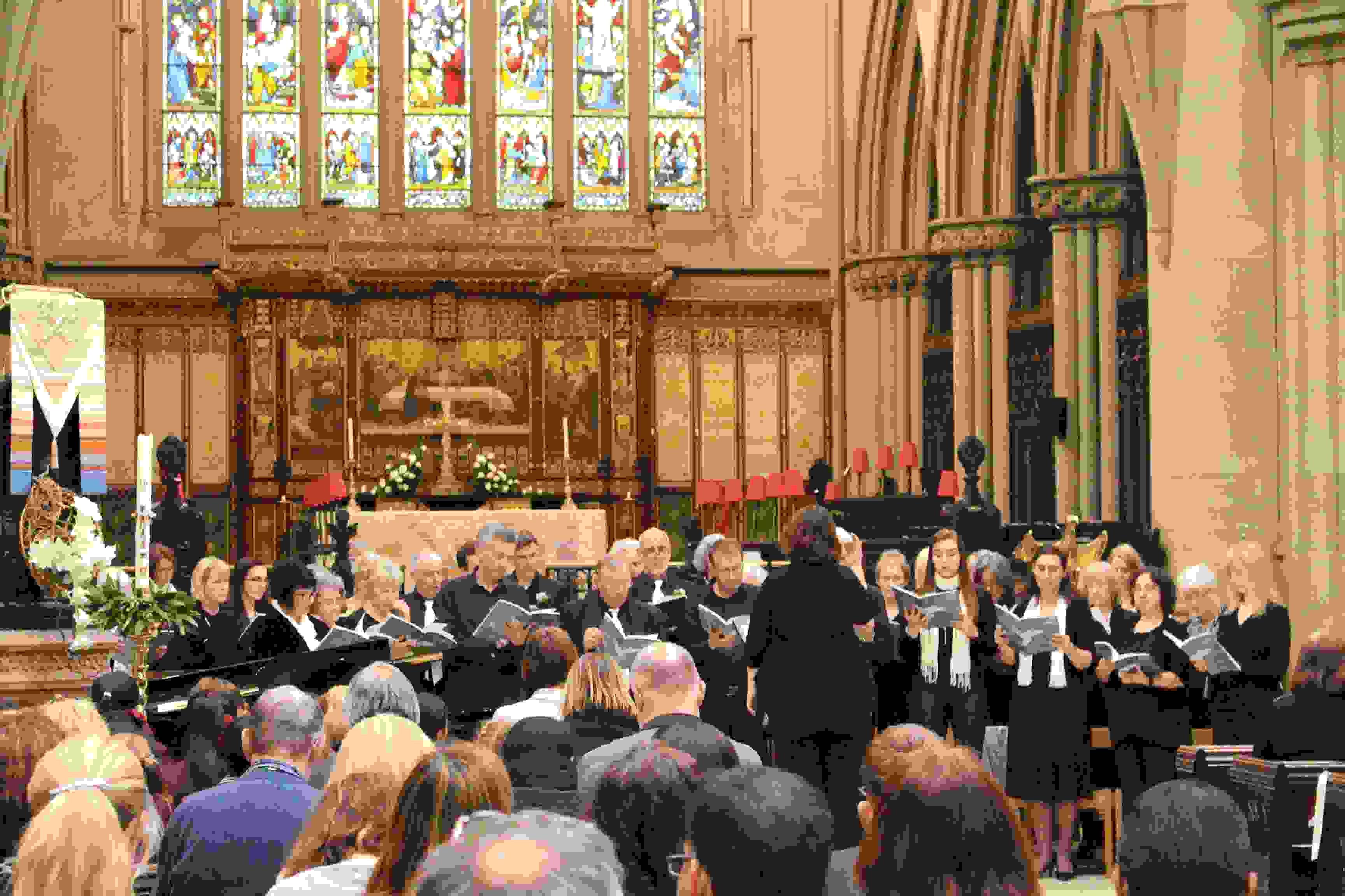 Mass for Peace - Friends of Bolton School perform