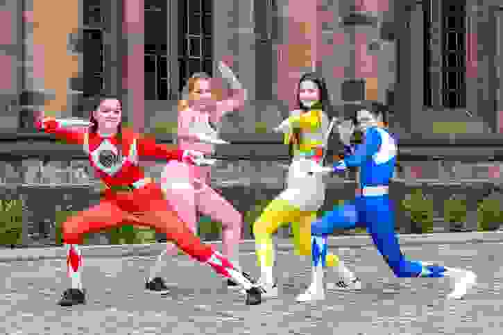 Leavers' Day 2017 - Power Rangers