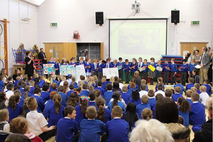 SCITT Partnership - Pupils present their work