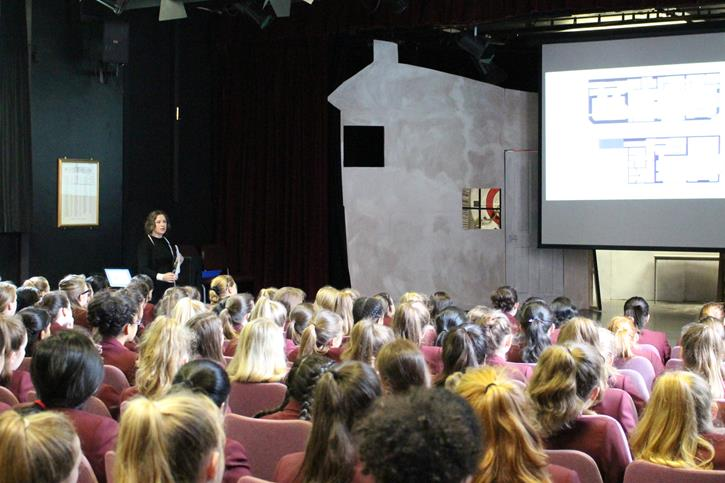 Y8 Careers Day - Keynote Sarah Harrison
