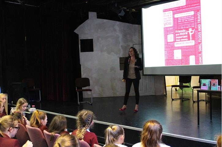 Bolton School Childrens Author Tells How To Win Like A Girl