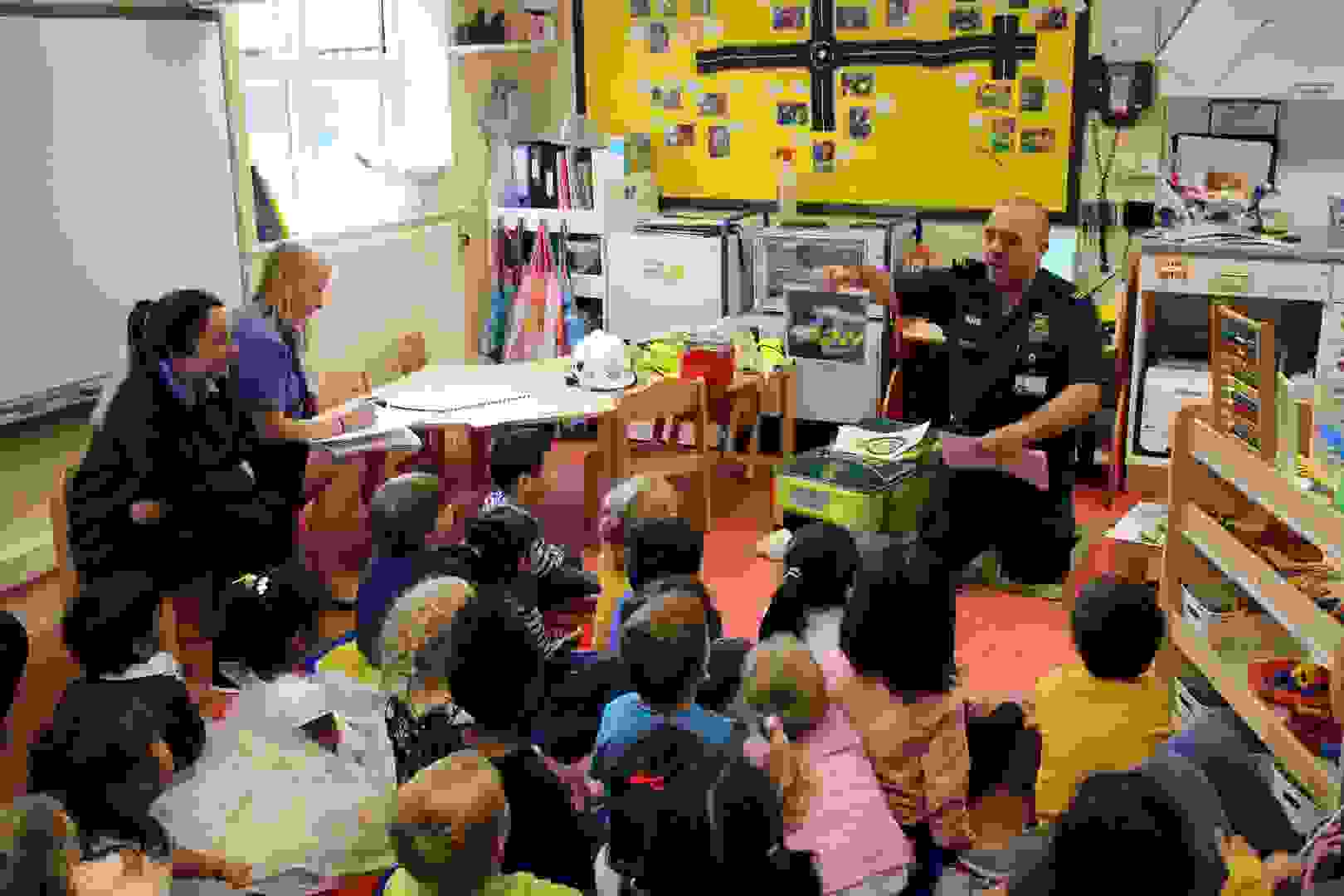 Emergency Services Week - Butterflies with Ambulance Paramedic