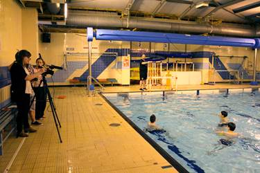 Water Polo Swim England Instructional Video Filming (2)