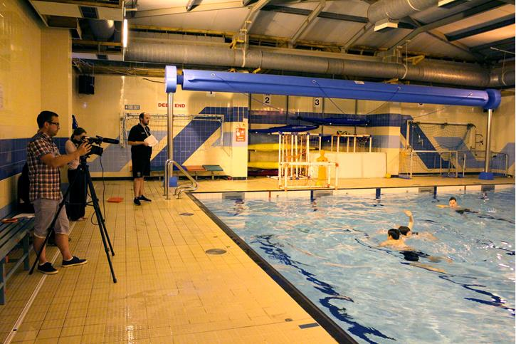 Water Polo Swim England Instructional Video Filming (3)