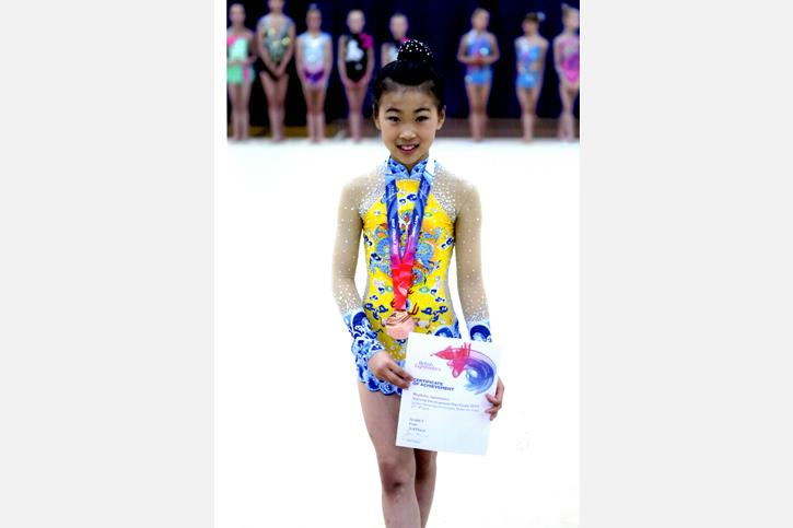 Dinburgh Ai NW Rhythmic Gymnastics Champion