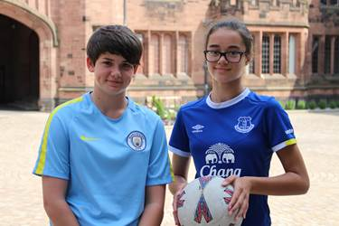 Football Contracts for Anna and Lizzy