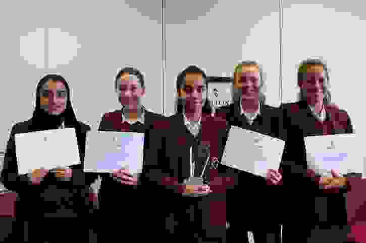 PA Future Entrepreneurs Final - the winning team SoCAE