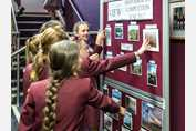 Jr Girls' Photography Comp 2017 - girls at display
