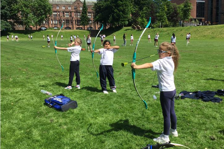 Y3 Outdoor Learning - archery