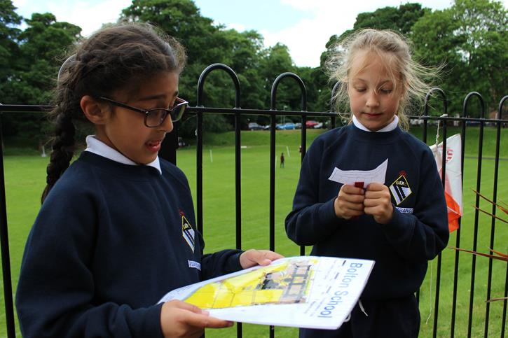 Y3 Outdoor Learning - orienteering